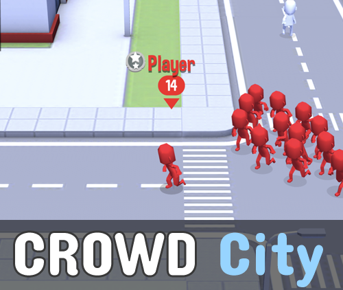 играть в crowd city